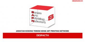 Permohonan Jawatan Kosong Terkini Sense Art Printing Network