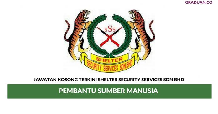 Permohonan Jawatan Kosong Terkini Shelter Security Services Sdn Bhd