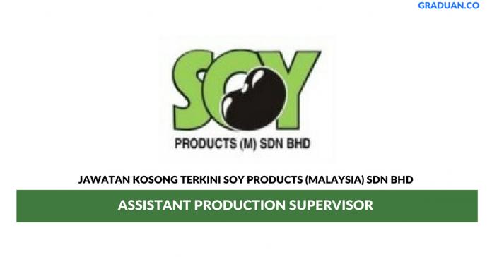 Permohonan Jawatan Kosong Terkini Soy Products (Malaysia) Sdn Bhd