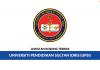 Permohonan Jawatan Kosong Terkini Universiti Pendidikan Sultan Idris (UPSI)