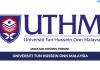 Permohonan Jawatan Kosong Terkini Universiti Tun Hussein Onn Malaysia