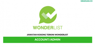 Permohonan Jawatan Kosong Terkini Wonderlist
