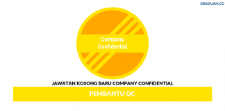 Permohonan Jawatan Kosong Terkini Company Confidential.