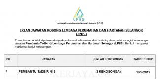 Lembaga Perumahan dan Hartanah Selangor (LPHS)