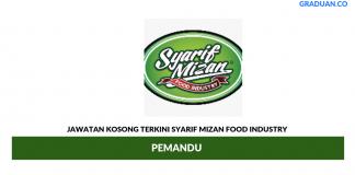 Permohonan Jawatan Kosong Terkini Syarif Mizan Food Industry