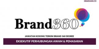 Permohonan Jawatan Kosong Terkini Brand 360 Degree