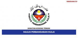 Permohonan Jawatan Kosong Terkini Majlis Perbandaran Kulai