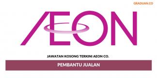 Permohonan Jawatan Kosong Terkini AEON Co. (M)
