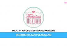 Permohonan Jawatan Kosong Terkini Fabulous Heejab