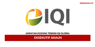 Permohonan Jawatan Kosong Terkini IQI Global