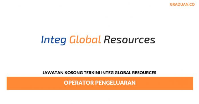Permohonan Jawatan Kosong Terkini Integ Global Resources