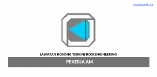 Permohonan Jawatan Kosong Terkini Kosi Engineering