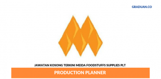 Permohonan Jawatan Kosong Terkini Meida Foodstuffs Supplies Plt