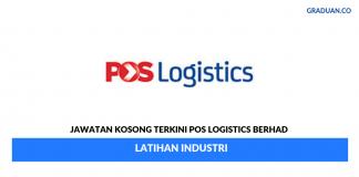 Permohonan Jawatan Kosong Terkini Pos Logistics Berhad