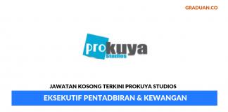 Permohonan Jawatan Kosong Terkini Prokuya Studios