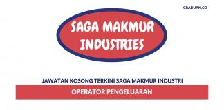 Permohonan Jawatan Kosong Terkini Saga Makmur Industri