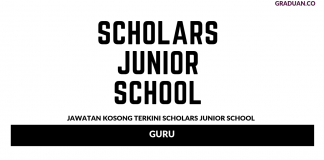 Permohonan Jawatan Kosong Terkini Scholars Junior School
