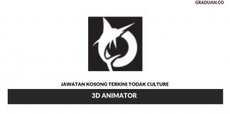 Permohonan Jawatan Kosong Terkini Todak Studios