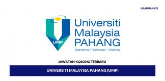 Permohonan Jawatan Kosong Terkini Universiti Malaysia Pahang (UMP)