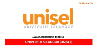 Permohonan Jawatan Kosong Terkini Universiti Selangor (UNISEL)