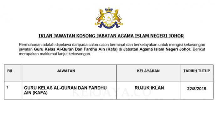 Jabatan Agama Islam Negeri Johor