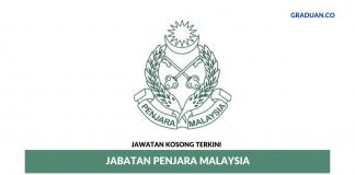 Permohonan Jawatan Kosong Terkini Jabatan Penjara Malaysia