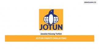 Permohonan Jawatan Kosong Terkini Jotun Paints (Malaysia)