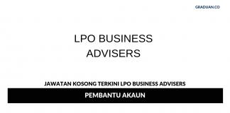 Permohonan Jawatan Kosong Terkini LPO Business Advisers