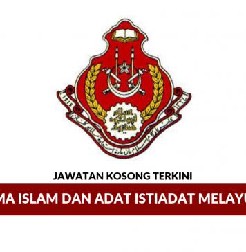 Permohonan Jawatan Kosong Terkini Majlis Agama Islam Dan Adat Istiadat Melayu Kelantan