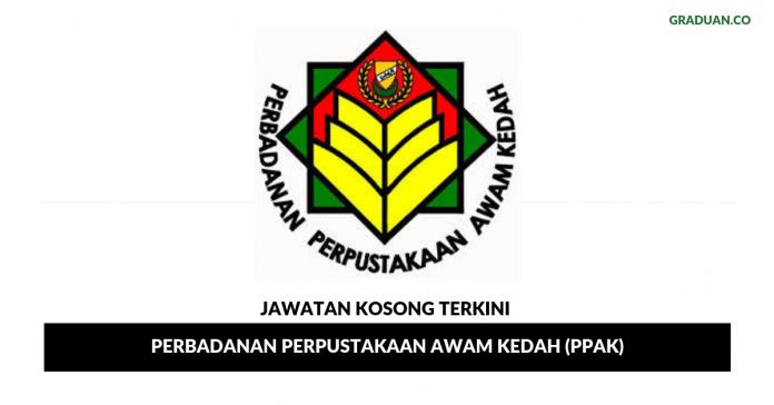 Permohonan Jawatan Kosong Terkini Perbadanan Perpustakaan Awam Kedah (PPAK)