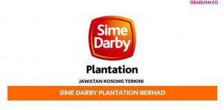 Permohonan Jawatan Kosong Terkini Sime Darby Plantation Berhad