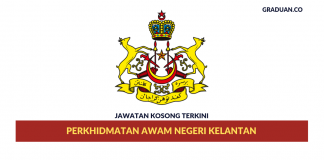 _Permohonan Jawatan Kosong Terkini Perkhidmatan Awam Negeri Kelantan