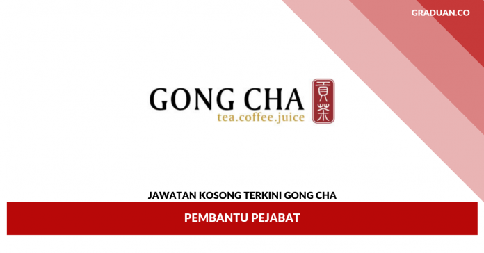 _Jawatan Kosong Terkini Gong Cha