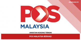 _Jawatan Kosong Terkini Pos Malaysia Berhad