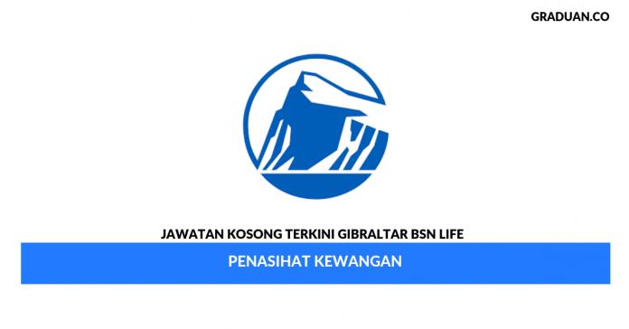 Permohonan Jawatan Kosong Gibraltar BSN Life