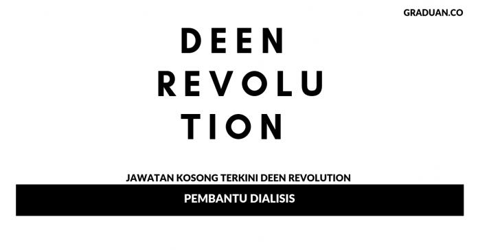 Permohonan Jawatan Kosong Terkini Deen Revolution