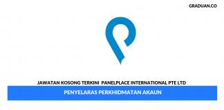 Permohonan Jawatan Kosong Terkini PanelPlace International Pte Ltd