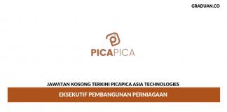 Permohonan Jawatan Kosong Terkini Picapica Asia Technologies