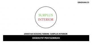 Permohonan Jawatan Kosong Terkini Surplus Interior