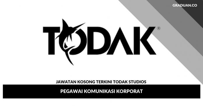 Jawatan Kosong Terkini Todak Studios _ Pegawai Komunikasi Korporat
