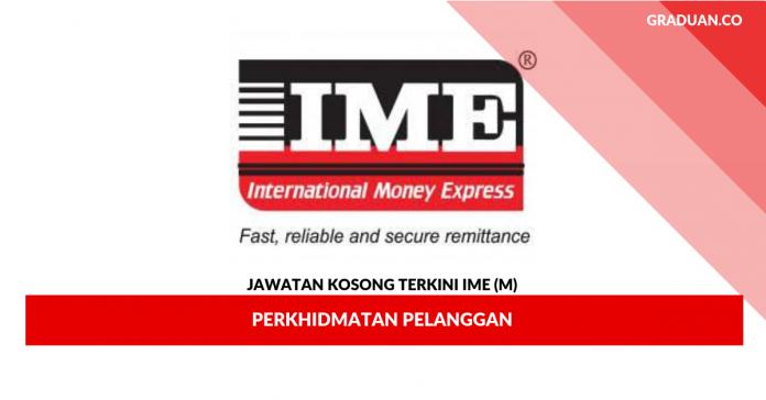 Permohonan Jawatan Kosong IME (M)
