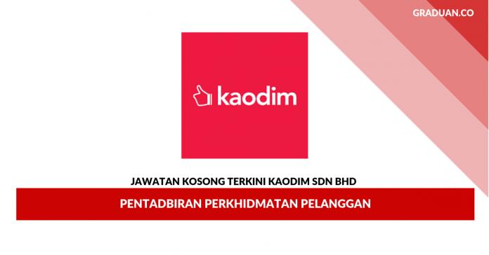 Permohonan Jawatan Kosong Kaodim Sdn Bhd _ Pentadbiran Perkhidmatan Pelanggan