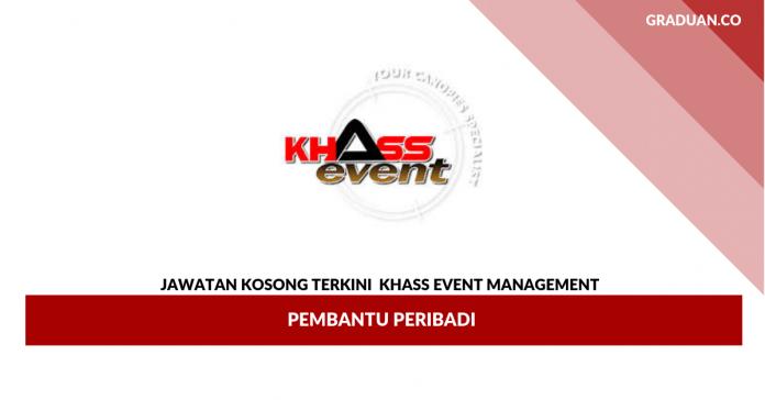 _Permohonan Jawatan Kosong Khass Event Management