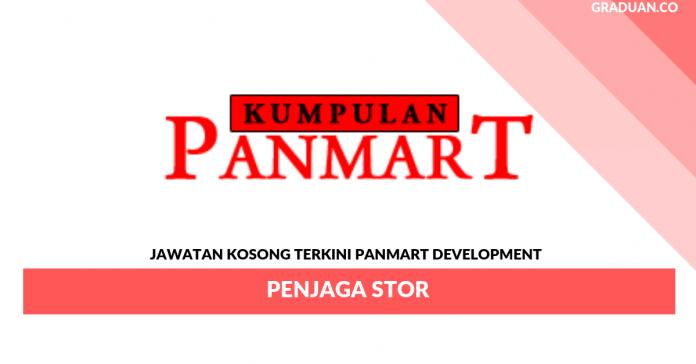 Permohonan Jawatan Kosong Terkini Panmart Development _ Penjaga Stor