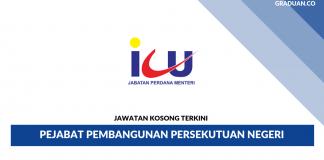 Permohonan Jawatan Kosong Terkini Pejabat Pembangunan Persekutuan Negeri