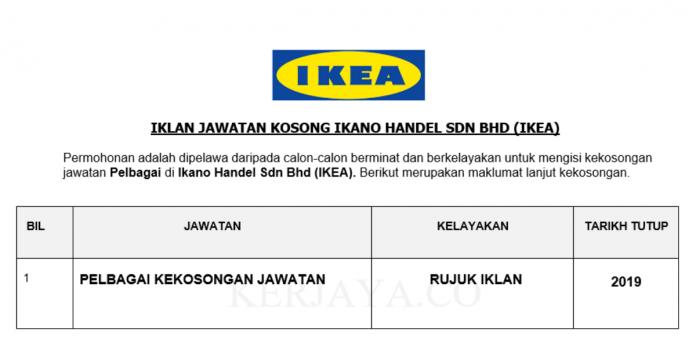 Ikano Handel Sdn Bhd (IKEA)
