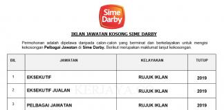 Sime Darby Motors _ Eksekutif, Eksekutif Jualan & DLL