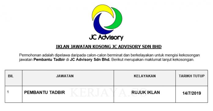 JC Advisory Sdn Bhd
