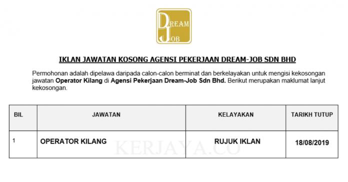 Agensi Pekerjaan Dream-Job Sdn Bhd
