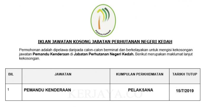Jabatan Perhutanan Negeri Kedah